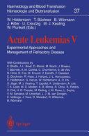 Acute Leukemias V