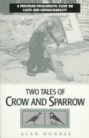 Pdf Two Tales of Crow and Sparrow