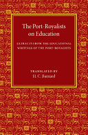 The Port Royalists on Education