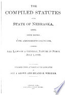 The Compiled Statutes of the State of Nebraska, 1881