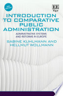 Introduction To Comparative Public Administration