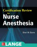 Certification Review for Nurse Anesthesia Pdf/ePub eBook