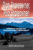 Rich Shareowner Poor Shareowner  Book PDF