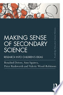 Making Sense Of Secondary Science