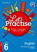 Books - Oxford Lets Practise English First Additional Language Grade 6 Practice Book | ISBN 9780190406356