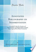 Annotated Bibliography on Sedimentation