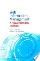 Web Information Management Book