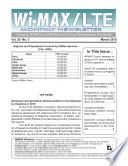 WiMAX Monthly Newsletter March 2010