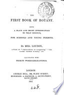 The first book of botany