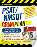 CliffsNotes PSAT NMSQT Cram Plan