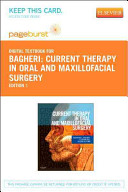 Current Therapy in Oral and Maxillofacial Surgery Book