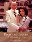Rich and Judith   A Memoir of Love