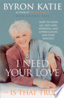 I Need Your Love   Is That True  Book