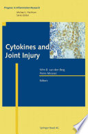 Cytokines And Joint Injury Book PDF