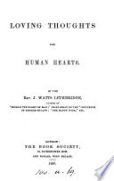 Loving Thoughts for Human Hearts Book PDF