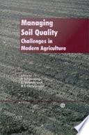 Managing Soil Quality