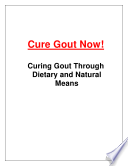 Cure Gout Now Book