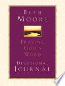 Praying God s Word  Devotional Journal Book PDF