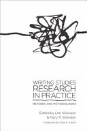 Writing Studies Research in Practice