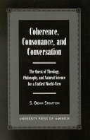 Coherence, Consonance, and Conversation ebook
