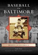 Baseball in Baltimore