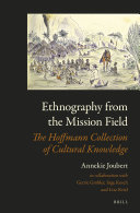 Ethnography from the Mission Field: The Hoffmann Collection ...