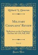 Military Chaplains  Review  Vol  12