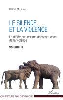 Pdf Le silence et la violence Telecharger