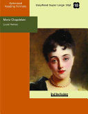 Maria Chapdelain (EasyRead Super Large 18pt Edition)