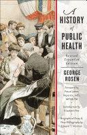 A History of Public Health Pdf/ePub eBook