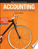 """Accounting: Tools for Business Decision Making"" by Paul D. Kimmel, Jerry J. Weygandt, Donald E. Kieso"
