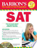 Barron's SAT with CD-ROM