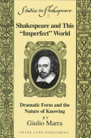 Shakespeare and this  imperfect  World
