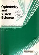 Optometry and Vision Science