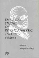 Empirical Studies of Psychoanalytic Theories