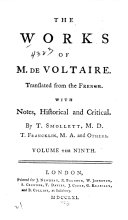 The Works of M. de Voltaire: The modern history continued, chap. CLXXXVII-CCXV