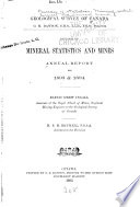 Annual Report on the Mineral Production of Canada