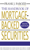 The Handbook of Mortgage-Backed Securities Pdf