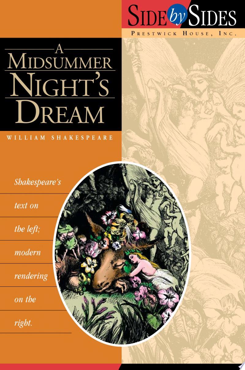 A Midsummer Nights Dream banner backdrop