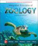 Cover of Integrated Principles of Zoology 18e