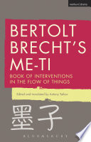 Bertolt Brecht's Me-ti
