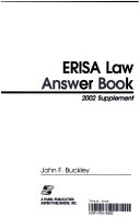 Erisa Law Answer Book  2002