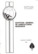 Egyptian Journal Of Agricultural Research