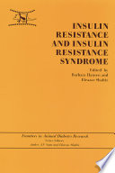 Insulin Resistance And Insulin Resistance Syndrome Book PDF