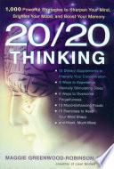 20 20 Thinking