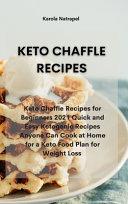 KETO CHAFFLE RECIPES