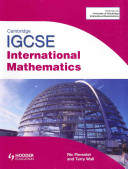Books - Cam/Ie Int Maths + Cd | ISBN 9781444112924