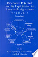 Biocontrol Potential And Its Exploitation In Sustainable Agriculture Book PDF