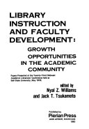 Library Instruction and Faculty Development Book