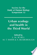 Urban Ecology And Health In The Third World Book PDF